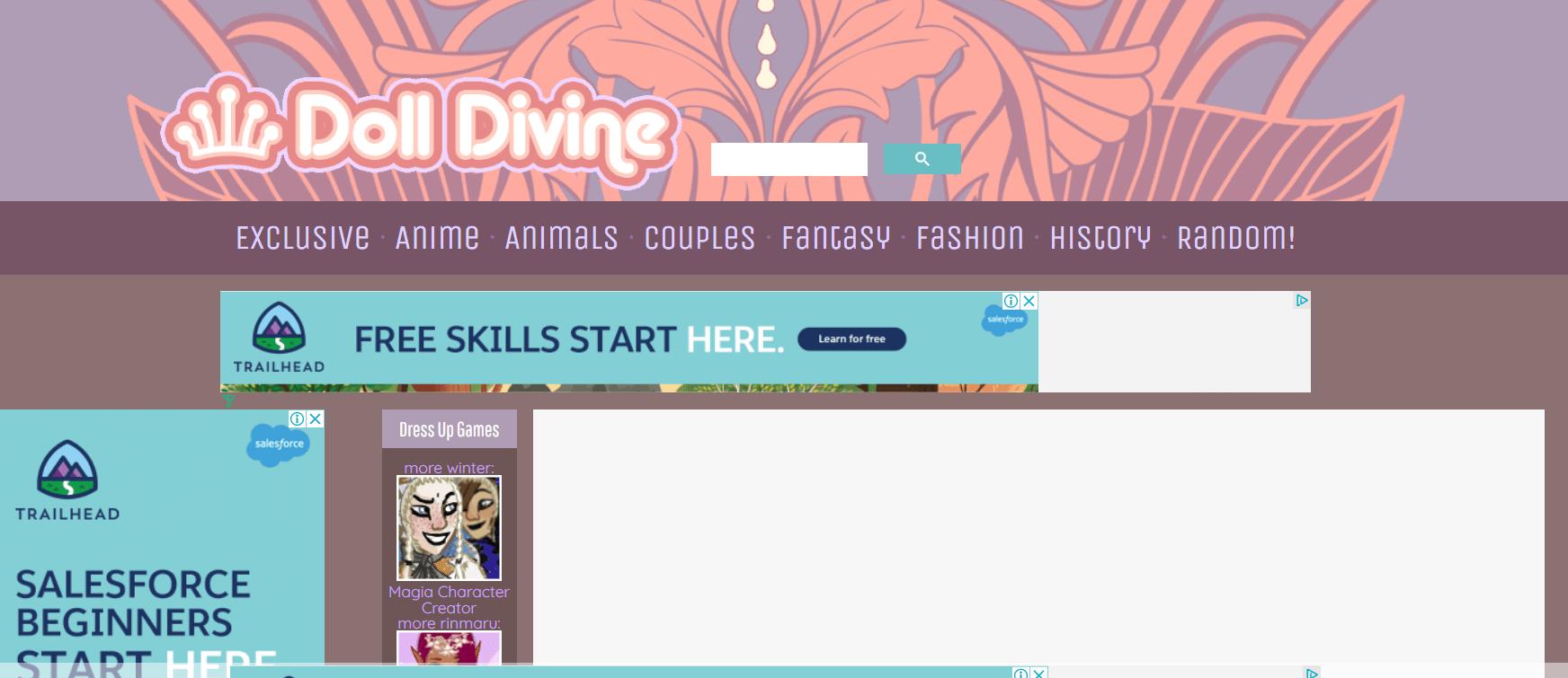 Doll divine - cartoon avatar creator